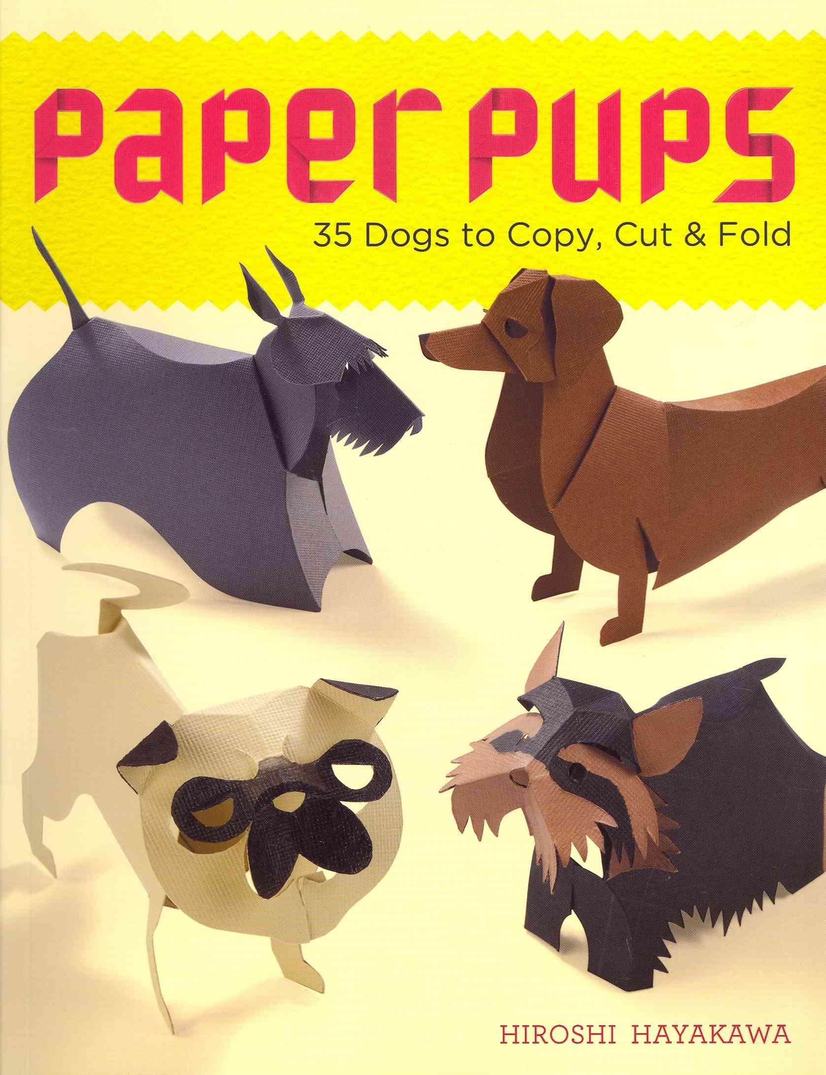 Paper Pups By Hayakawa, Hiroshi
